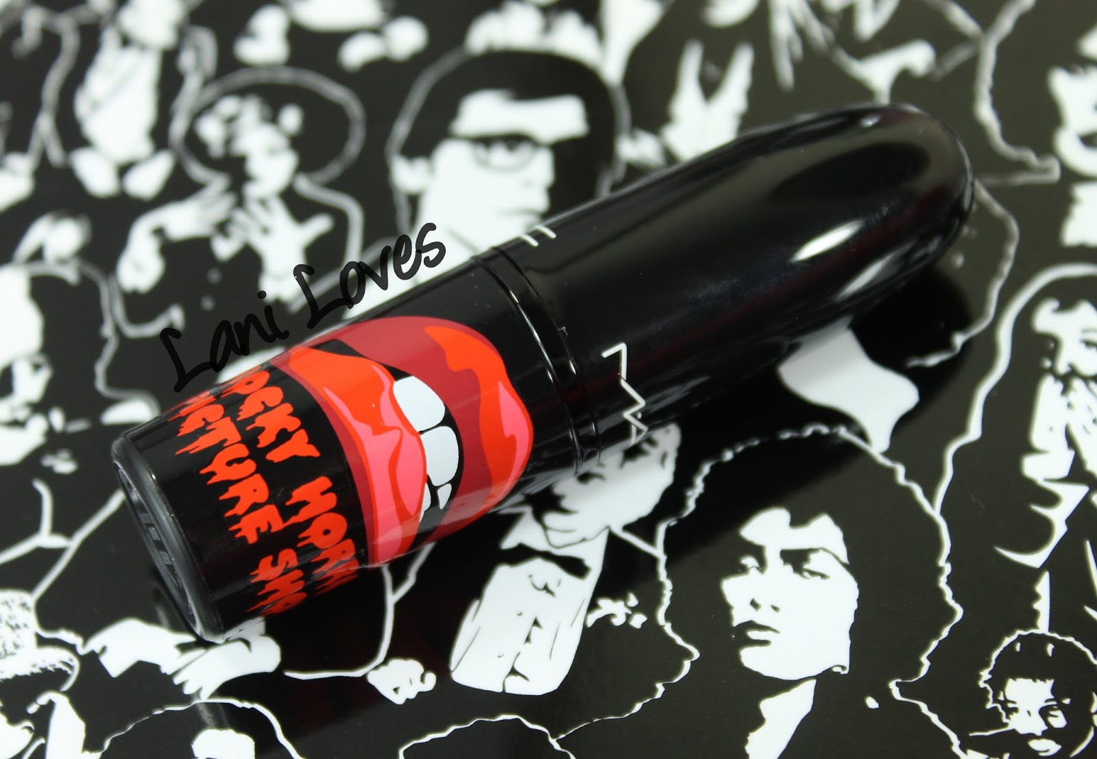 MAC X Rocky Horror Picture Show Lipsticks: Strange Journey, Oblivion, Frank-N-Furter and Sin Swatches & Review