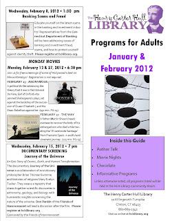 HCH Library News Clinton CT January February 2012