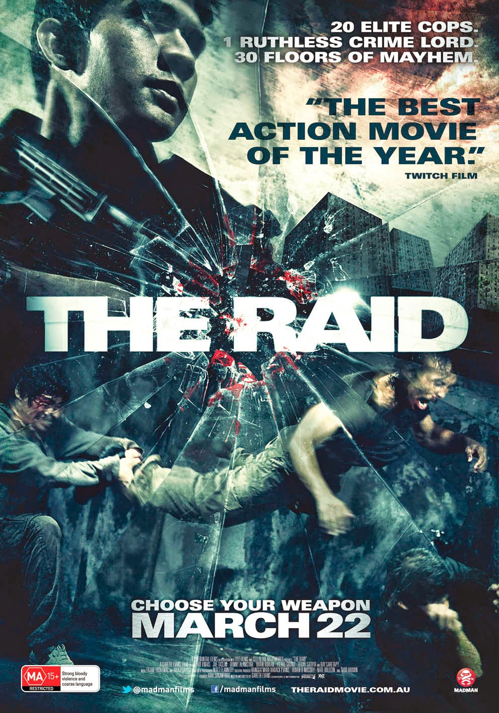 Download The Raid Redemption (2011) BluRay 720p