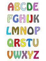 posisi huruf dan angka