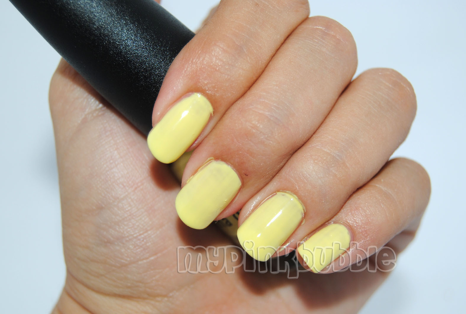 China Glaze Sun upon my skin swatch 2