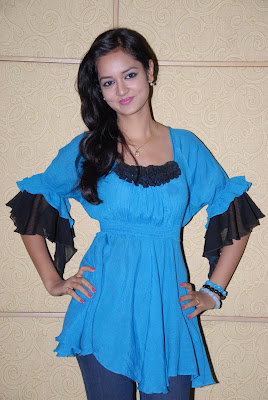 shanvi at lovely movie success meet hot images