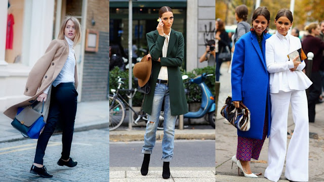 STREET STYLE : inspiracin abrigos 