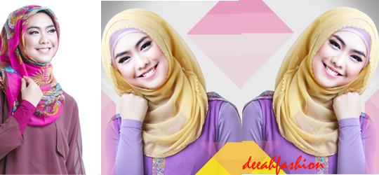 Jilbab Fashion ala Oki Setiana Dewi Oki Hijab Style