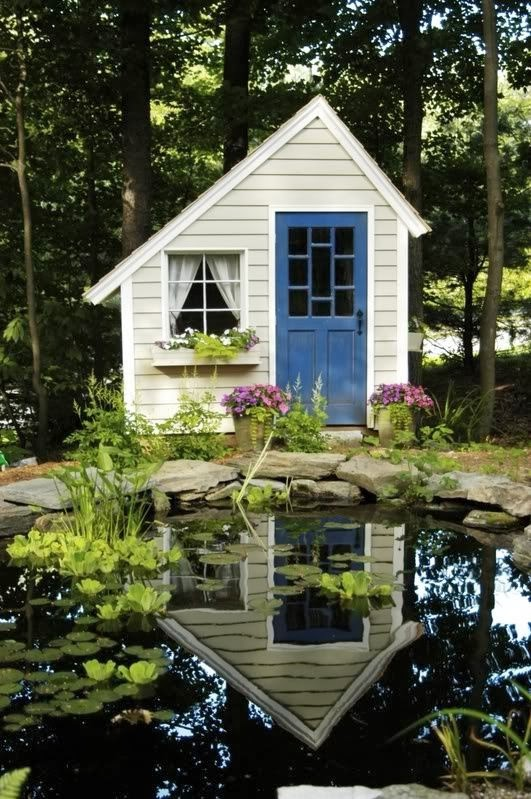 Garden potting sheds for Garden pool sheds