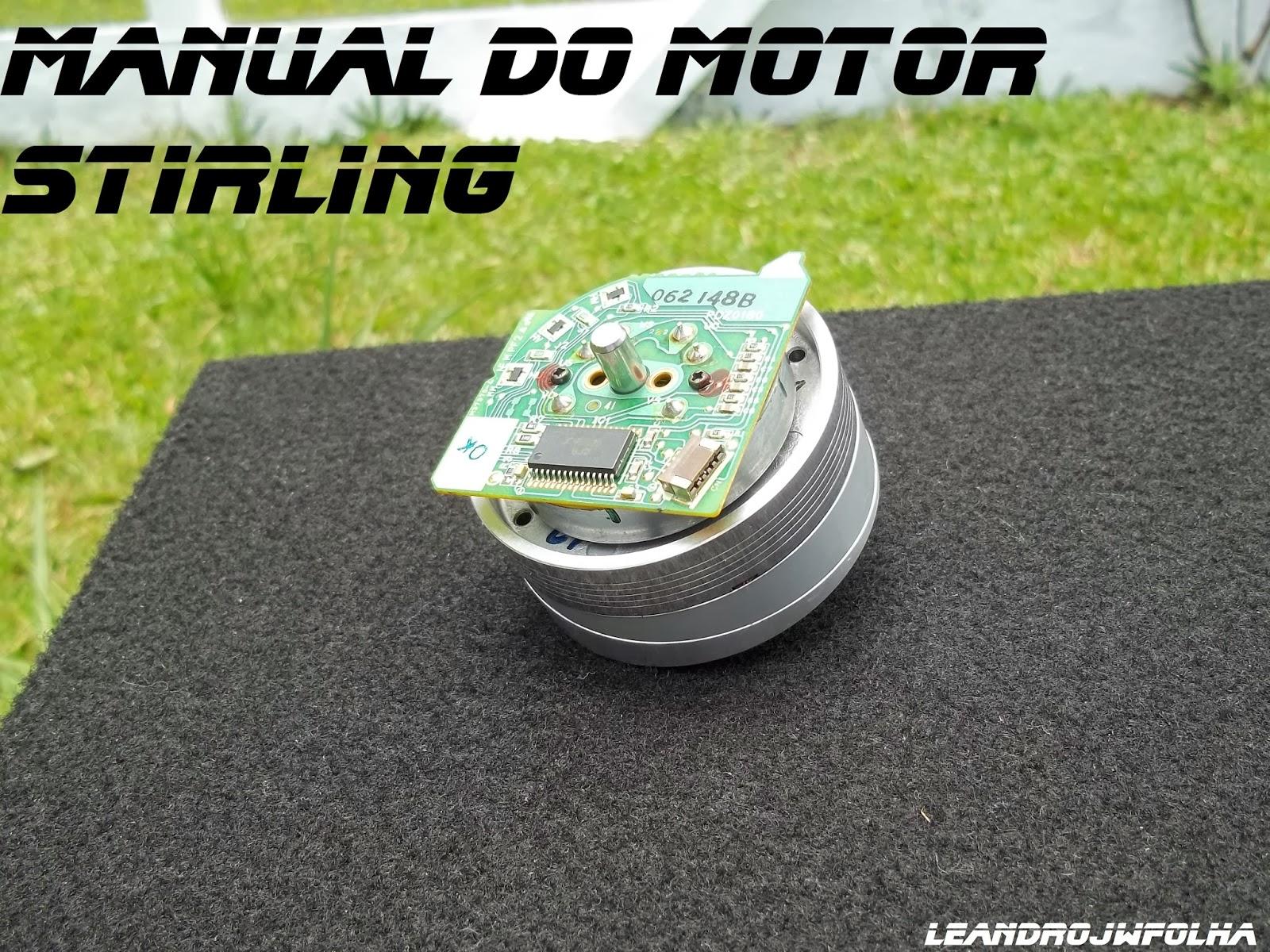 Manual do motor Stirling, cabeçote de aparelho de vídeo cassete