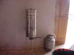 Extrator de suco a vapor