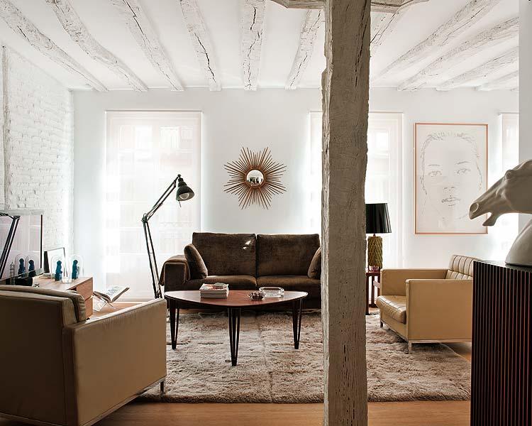 Theroom materiales paredes de ladrillo blanco - Materiales para insonorizar paredes ...