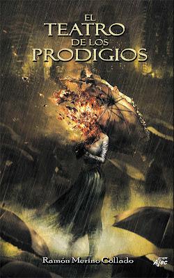 Ilustración de portada de El Teatro de los Prodigios