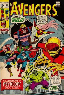 Avengers #88, Psyklop