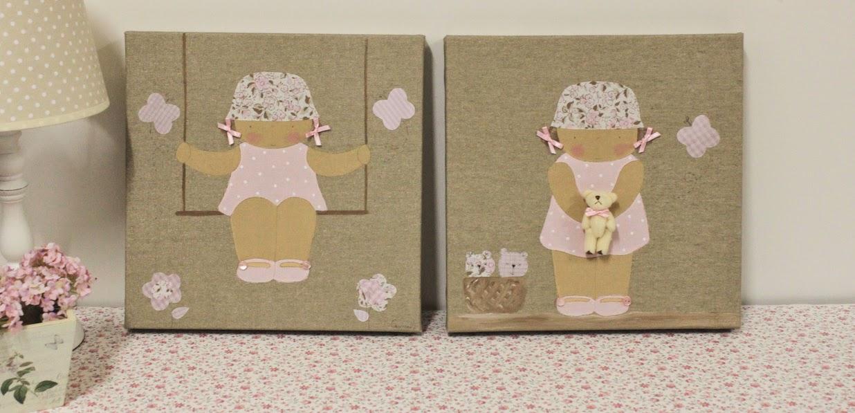 cuadros-niñas-infantiles-decoración