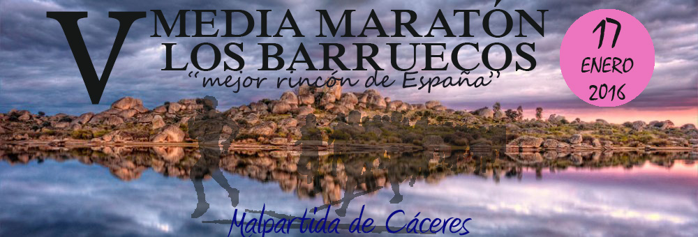 V MEDIA MARATON LOS BARRUECOS