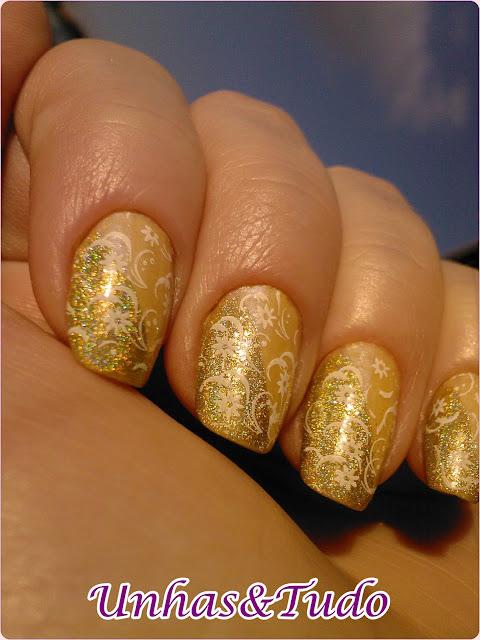 Esmaltes Iluminada amarelo e Superior dourado