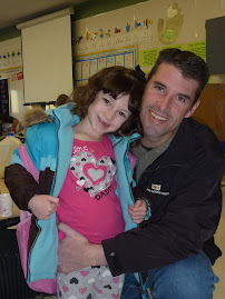 Donuts with Dad at school