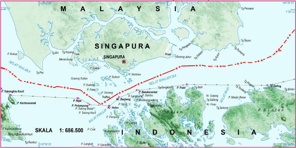 Peta NKRI Tahun 2015 dan Batas Maritim | Aku dan Tulisanku