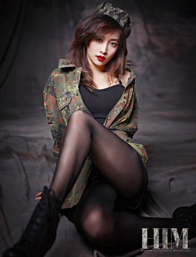 Nicole Jung - HIM Magazine December Issue 2014