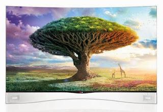 55-inch LG 55EA9800 Curved OLED TV