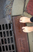 Barefoot Fresca Run In Rain
