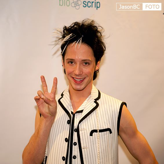 Johnny Weir. Photo © JasonBC Foto @ Binky's Johnny Weir Blog.