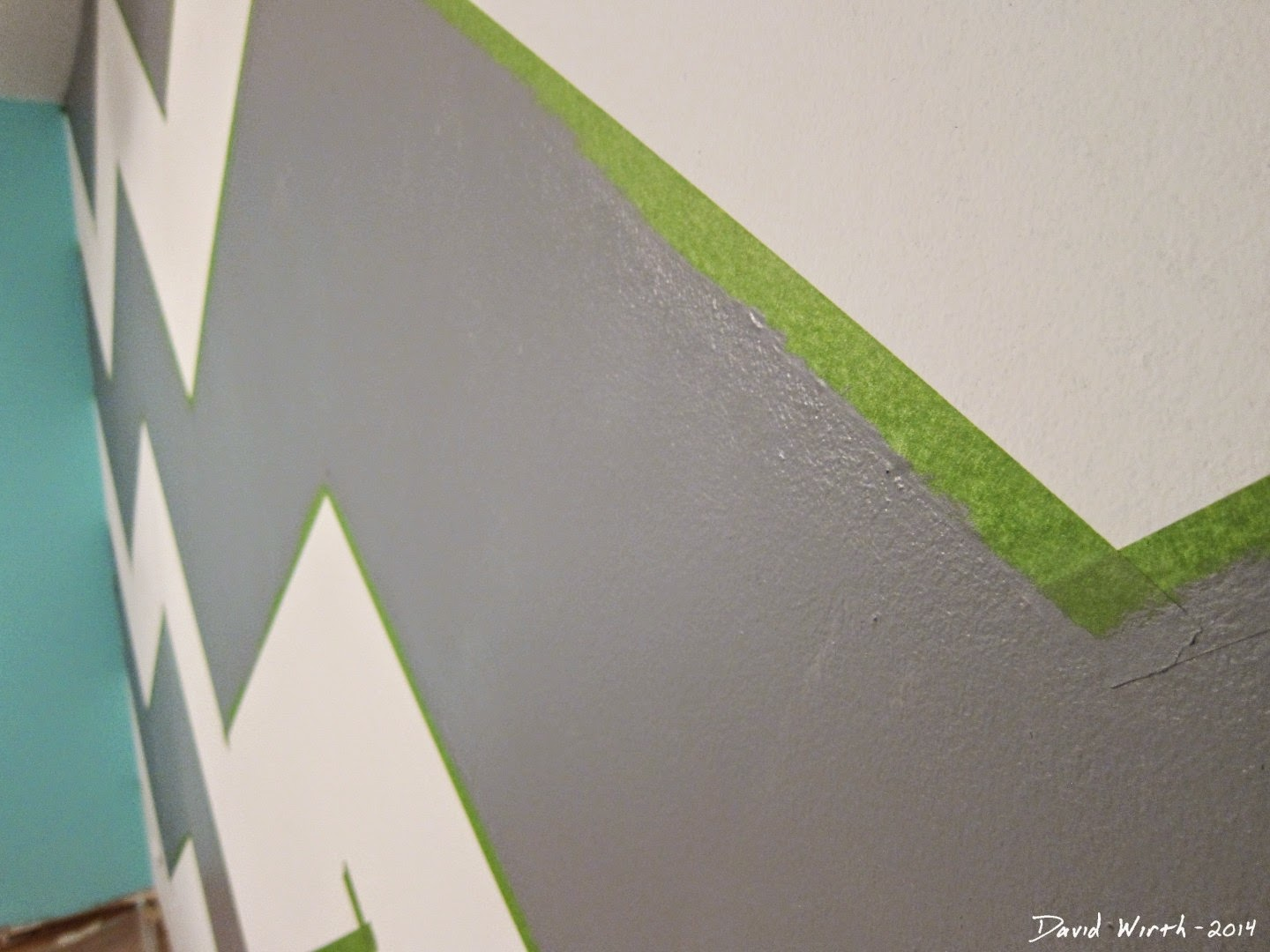 close up wall pattern design, paint, how to