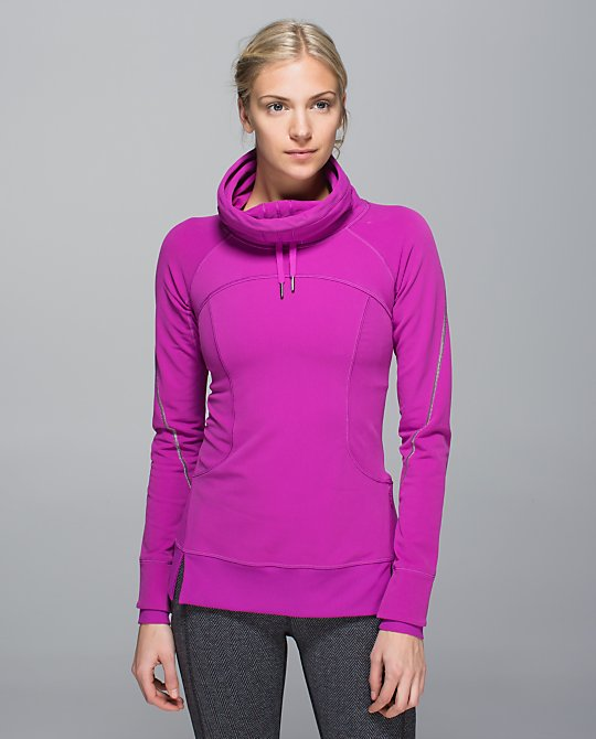lululemon flurry fighter pullover ultra violet