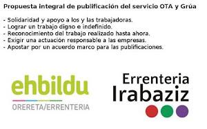 Propuesta integral de publificación del servicio OTA y grúa