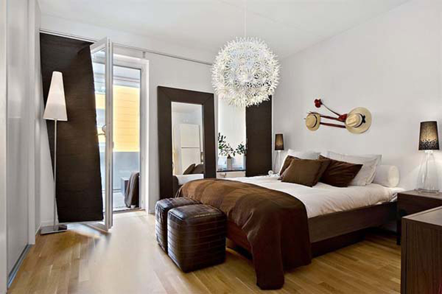 Contemporary Bedroom Ideas In Brown Master On Pinterest Walls Navy