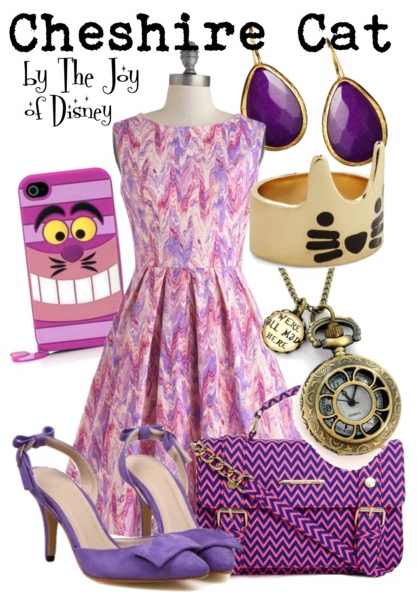 cheshire cat, alice in wonderland, cheshire cat outfit, cheshire cat costume, disney fashion