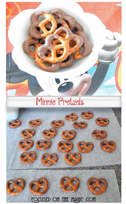 Focused on the Magic | Minnie Pretzels