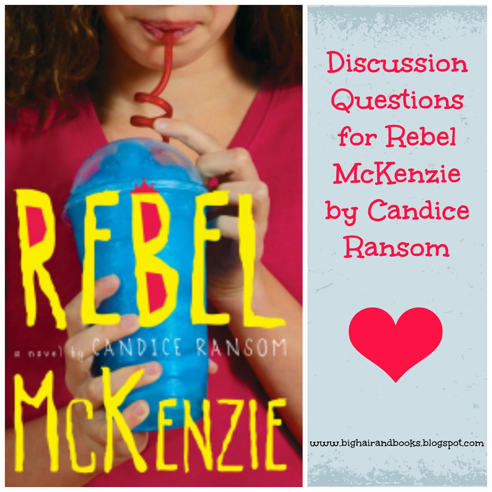 Discussion Questions for Rebel McKenzie