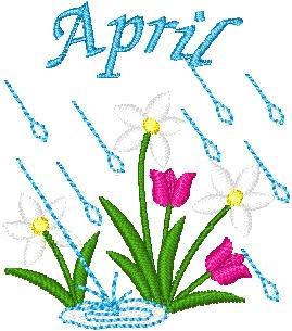 vroomans quilts april showers