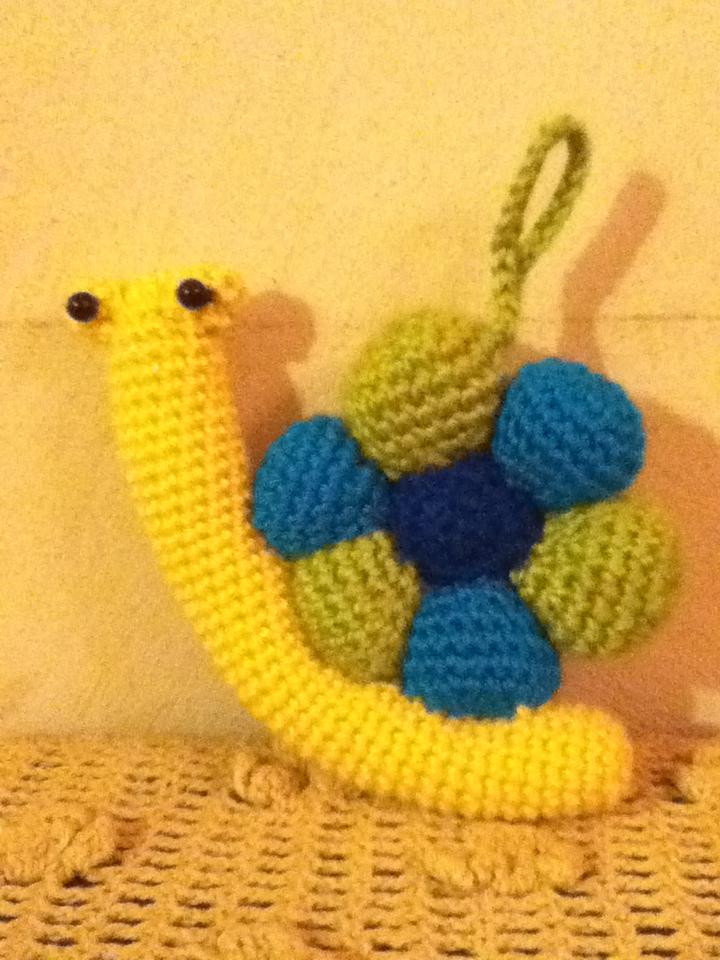 Amigurumi Caracol : Su Crochet: Amigurumi caracol