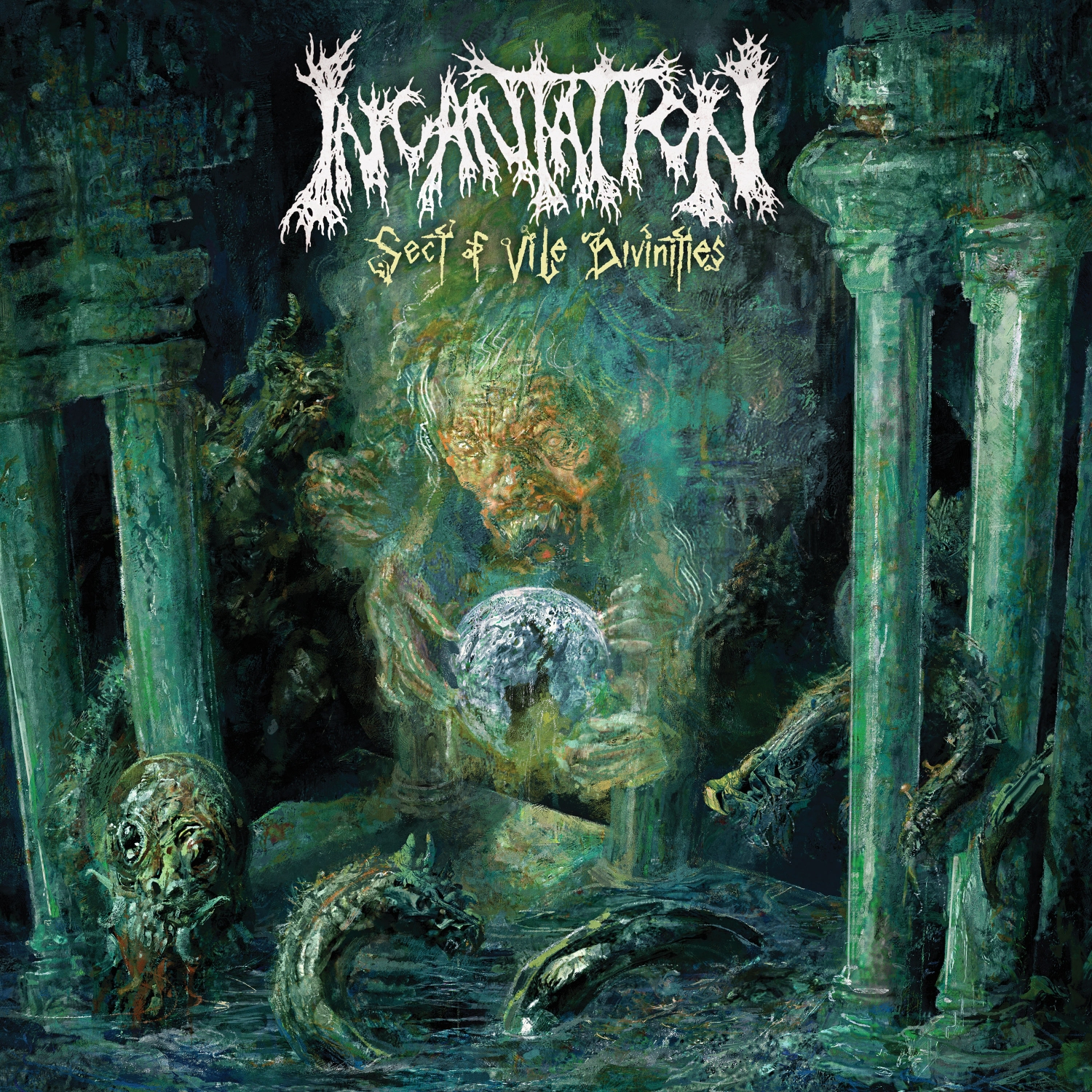 Incantation - Sect Of Vile Divinities - Press Release + Video.