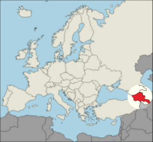 Armenia's location