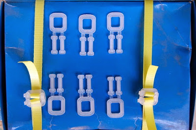 黃色pp帶 塑膠扣