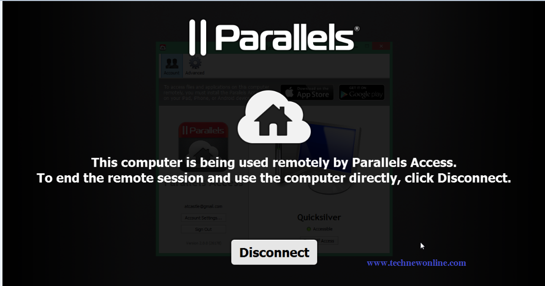 Use IOS Devices, Android Access Computer With Parallels Access 3