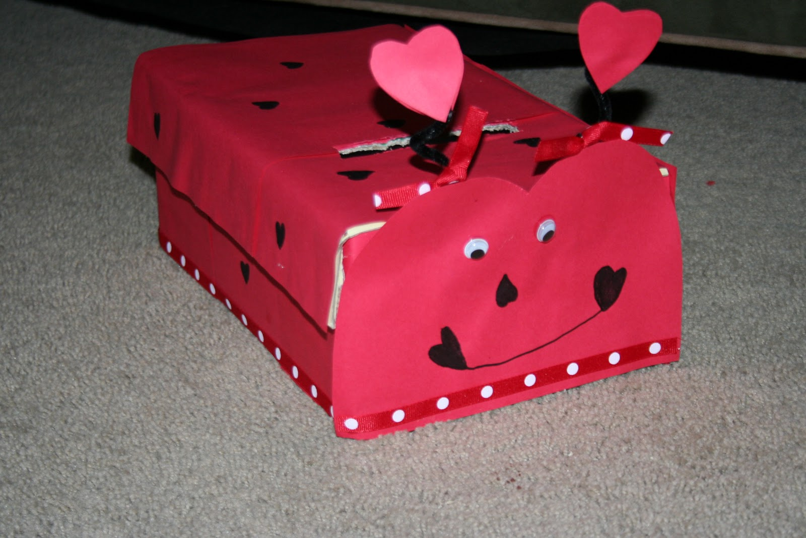 Creative Valentine Box #4   Ladybug