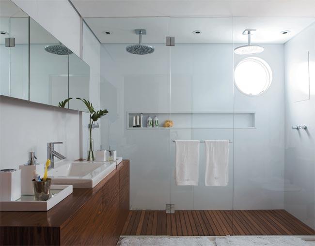 Reforma reforma Banheiros inspiradores -> Nicho No Banheiro Tamanho