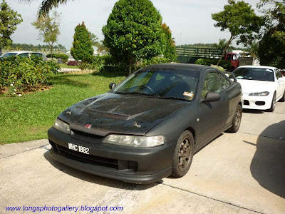Matte Black Integra Type R DC2