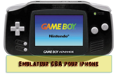 Emulateur GBA Iphone