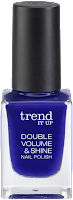 Preview: Die neue dm-Marke trend IT UP - Double Volume & Shine Nail Polish 190 - www.annitschkasblog.de