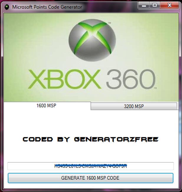 xbox live code generator ios 10