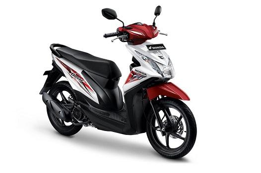 Honda Beat Putih Merah