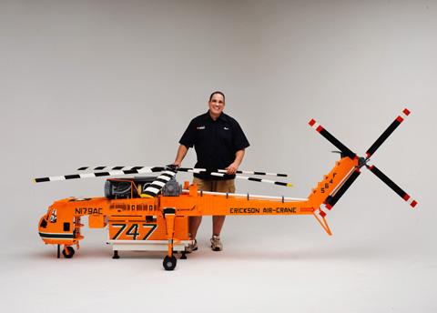 LEGO 'Elvis' Erickson Air-Crane