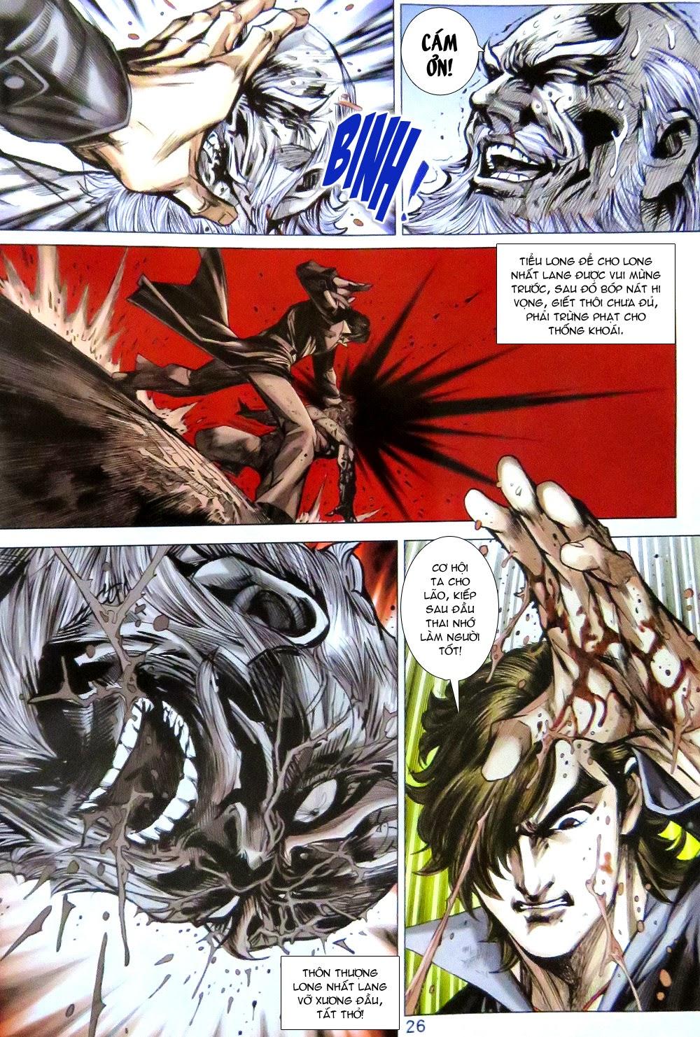 Tân Tác Long Hổ Môn chap 779 Trang 26 - Mangak.info