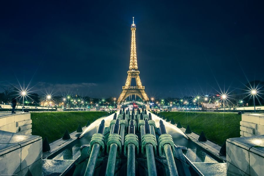 17. Eiffel Tower by night by Pierre-Lou Dominjon