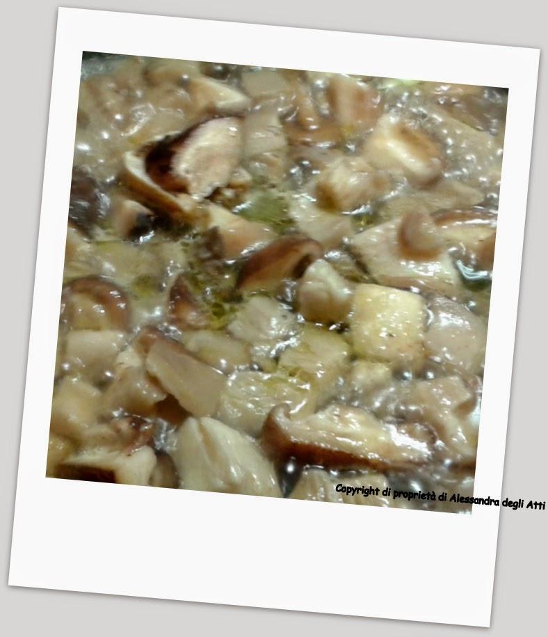 cottura funghi
