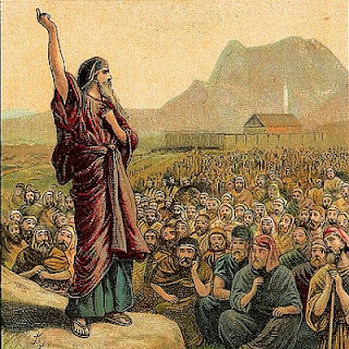 Moses Sings to Israel