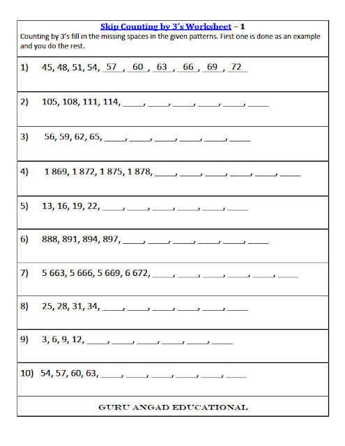 math worksheet : 3rd grade math skip counting worksheets : Math For 3rd Graders Worksheets