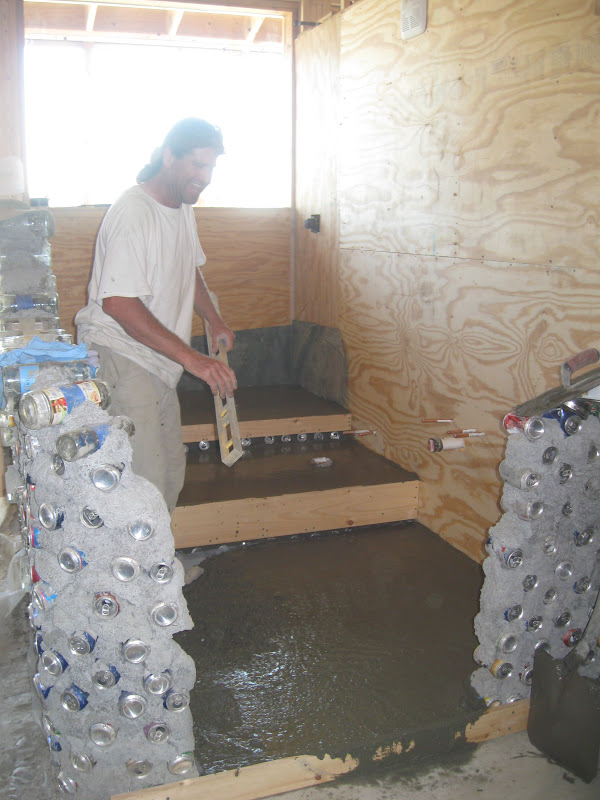 The Freeville Earthship August 2012
